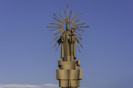 aragon: Virgin of La Estrella (Mosqueruela, Teruel - Spain).