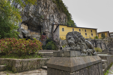 covadonga: Sanctuary of Covadonga (Asturias, Spain).