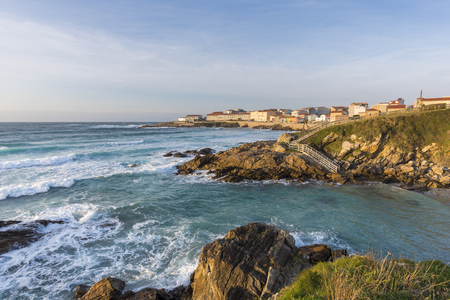 Coast of Caion (La Coruna, Spain). Stock Photo - 76735979