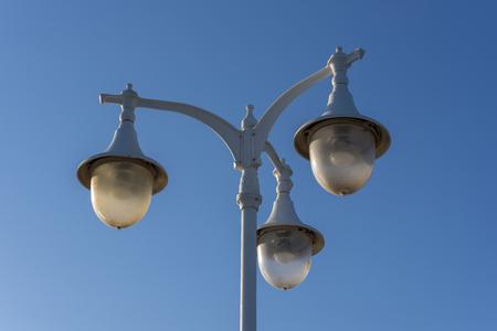 artificial lights: Street light.