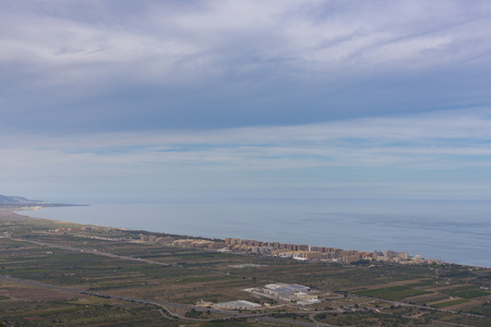 housing crisis: Marina Dor (Oropesa del Mar, Castellon - Spain).