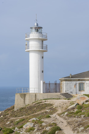 Tourinan lighthouse (Muxia, La Coruna - Spain).