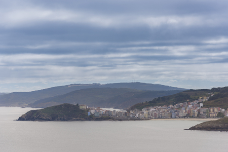 Malpica (La Coruna, Spain). Stock Photo
