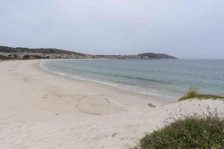 Soesto beach (Laxe, La Coruna - Spain). Stock Photo - 91434874