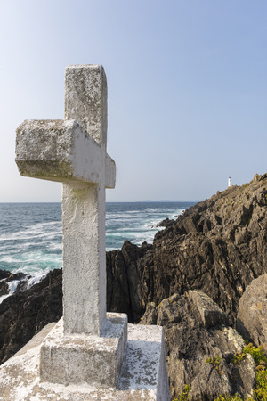 Cross in Cabo Home coast (Cangas, Pontevedra - Spain).