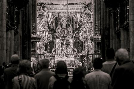 Cathdral of Santiago de Compostela (La Coruna, Spain).