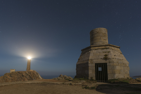 Lighthouse of Cabo Vilan (Camarinas, La Coruna - Spain).