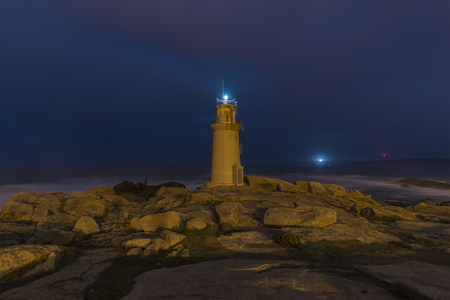 Lighthouse of Muxia (La Coruna, Spain).