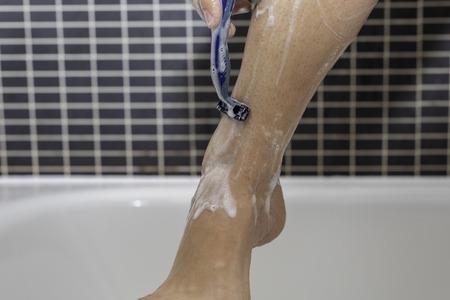 Female hair removal.