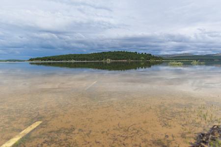 Pita beach, in the swamp of the Cuerda del Pozo (Vinuesa, Soria - Spain).
