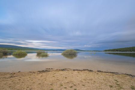 Playa de Pita, in the swamp of Cuerda del Pozo (Vinuesa, Soria - Spain).