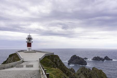 Cape Ortegal Lighthouse (Carino, La Coruna - Spain).