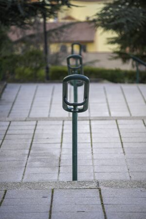 Handrail on the street. 스톡 콘텐츠 - 146304125