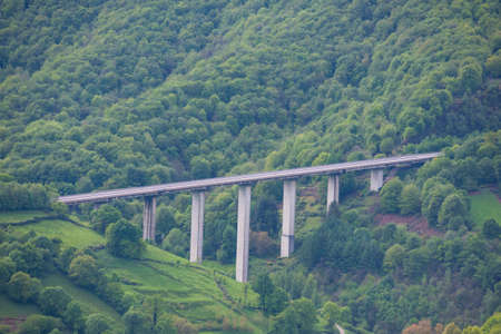 Viaduct of a highway.