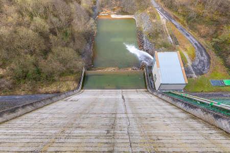 Urdalur reservoir (Navarra and Guipuzkoa, Spain).
