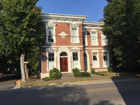 一度強盗 Jesse James ローガン郡ケンタッキー州の歴史的な南銀行。