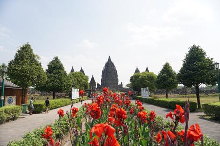 Prambanan Temple, Yogyakarta, Indonesia. Editorial