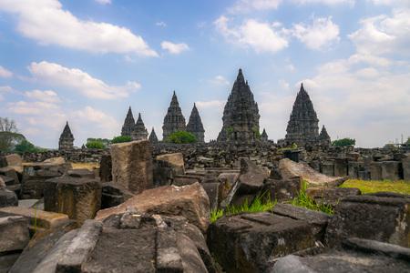 History of Prambanan Temple, Yogyakarta, Indonesia.