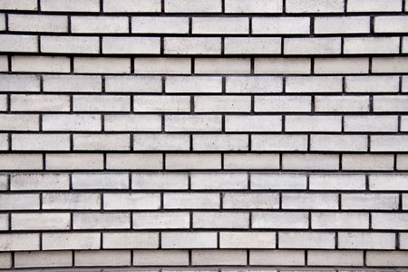 Grey bricks create a simple pattern perfect for a background image. Stock Photo - 5576131