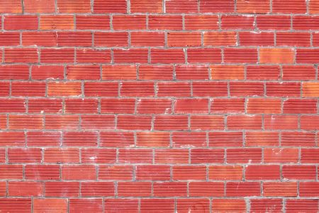 A simple brick texture creates an interesting pattern along the side of a building shot in an abstract way. Stock Photo - 5796697