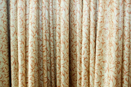 Some curtains or drapes are photographed in an abstract way to create a background image picture  Stock Photo