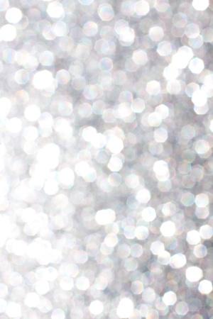 Out of focus tin textuur detail zorgt voor een unieke grijze zilverbeeld met veel bokeh.