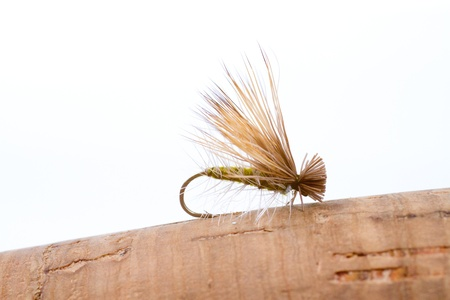 This caddis imitation is made of deer hair and elk hair and tied in an artistic way to attract fish while fishing in lakes streams rivers and creeks on the surface of the water
