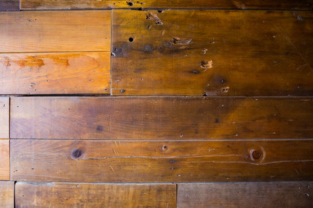old wood floor: Wood wall texture made out of reclaimed recycled lumber from a wooden barn.