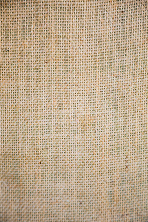 Abstract texture photo of burlap at a wedding reception.