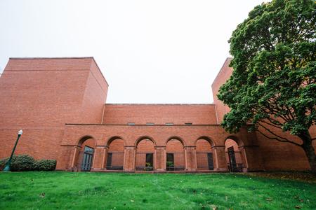 University Of Oregon Jordan Schnitzer Museum Of Art Building Stock - Jordan schnitzer museum