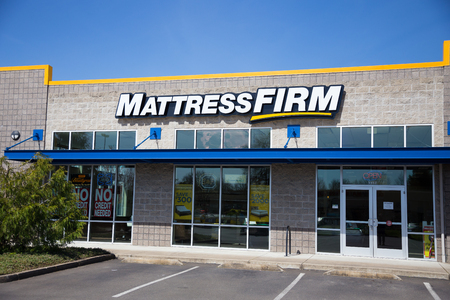 SPRINGFIELD, OR - MARCH 31, 2017: Discount mattress store Mattress Firm in Springfield Oregon.