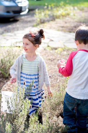 Easter Egg Hunt Outdoors in Oregon
