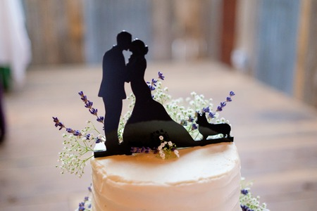 Corgi Wedding Cake Topper