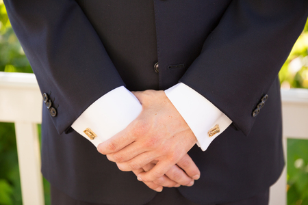 Groom Formal Attire on Wedding Day