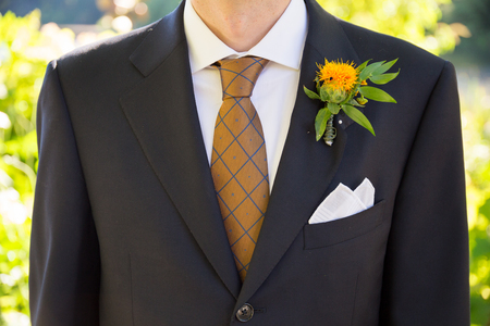 Groom Formal Attire on Wedding Day