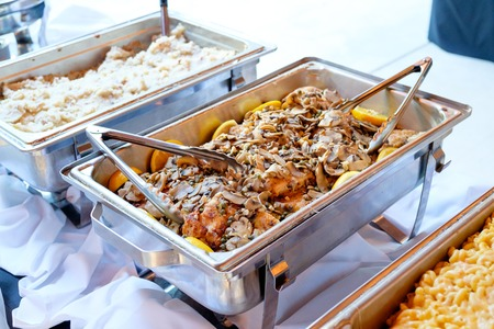 Wedding Reception Buffet Food Stock Photo Picture And Royalty Free