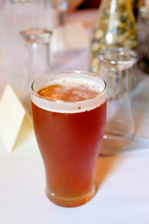 Craft Beer IPA at Wedding Reception