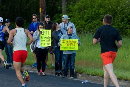 2017 Eugene Marathon Race Stock Photo - 78042611