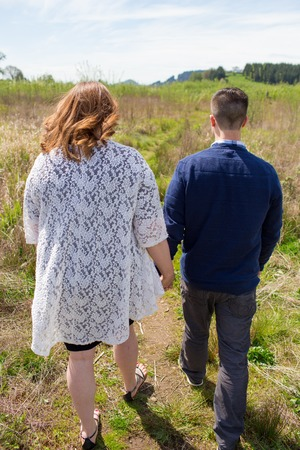 relational: Young Married Couple Lifestyle Portrait
