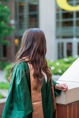 College Graduation Photo on University Campus