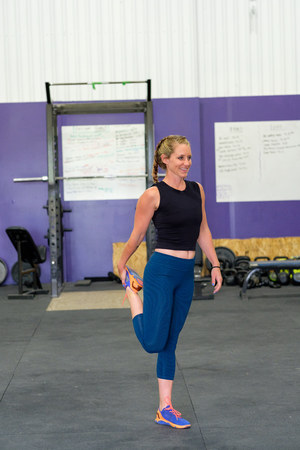Female at Cross Training Fitness Gym