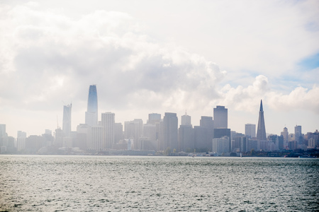 San Francisco City Skyline and Downtown