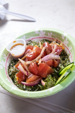 Raw Fish Poke Bowl