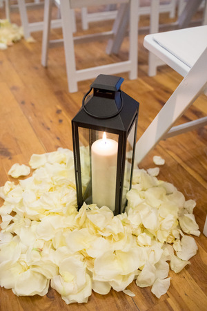 Wedding Ceremony Venue Setup