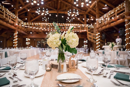 Wedding Centerpieces at Reception
