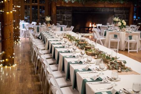 Head Wedding Table at Reception