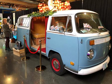 Photobooth VW Bus Portland Oregon