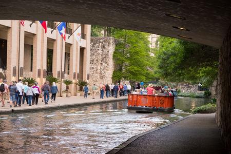 Historic San Antonio River Walk Editorial