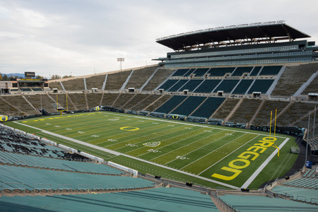 Autzen Stadium in Eugene Oregon at the University of Oregon Editöryel