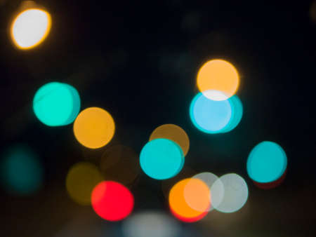 city lights: Bokeh from city lights